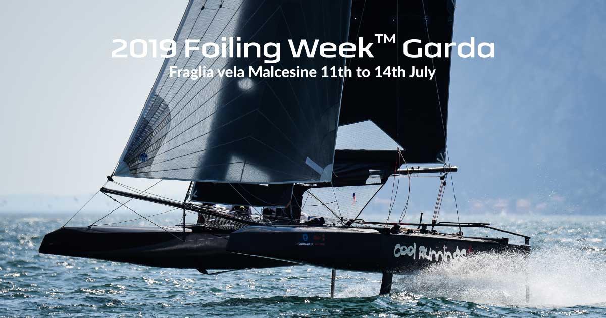 Foiling Week Lake Garda